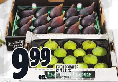 FRESH BROWN OR GREEN FIGS