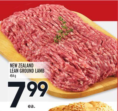 NEW ZEALAND LEAN GROUND LAMB