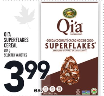 QI'A SUPERFLAKES CEREAL
