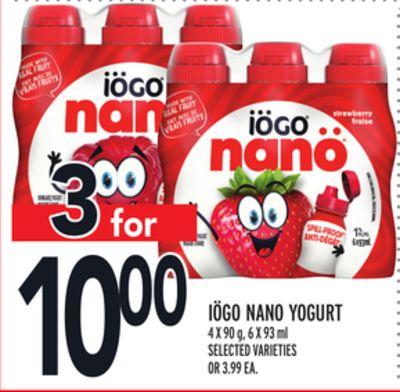 IÖGO NANO YOGURT