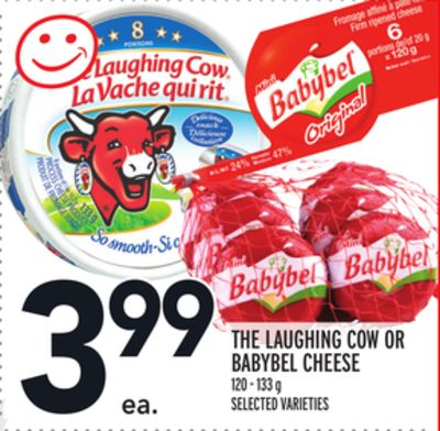 THE LAUGHING COW OR BABYBEL CHEESE