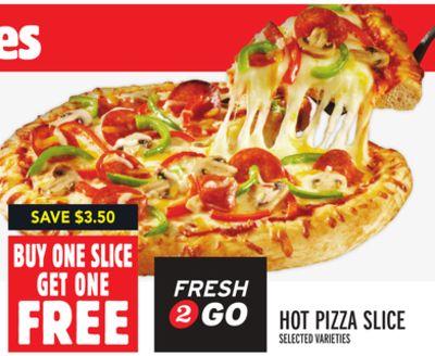 FRESH 2 GO HOT PIZZA SLICE
