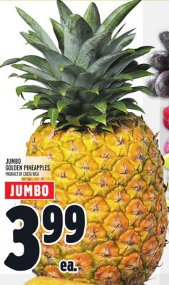 JUMBO GOLDEN PINEAPPLES
