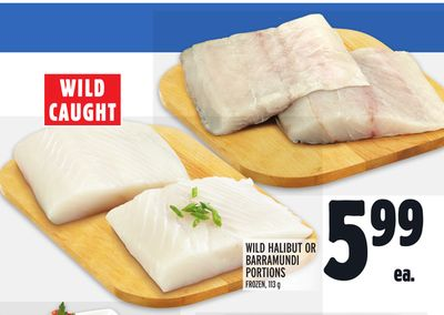 WILD HALIBUT OR BARRAMUNDI PORTIONS