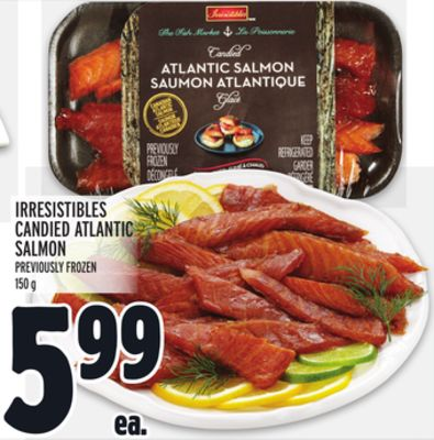 IRRESISTIBLES CANDIED ATLANTIC SALMON