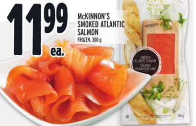 McKINNON'S SMOKED ATLANTIC SALMON