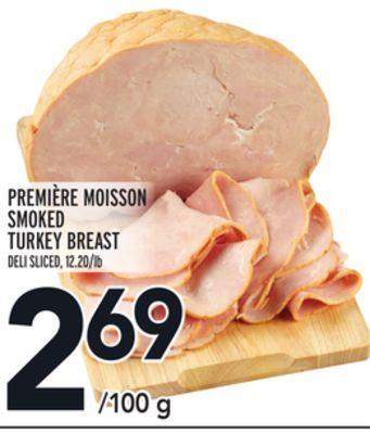 PREMIÈRE MOISSON SMOKED TURKEY BREAST