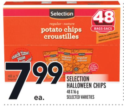 SELECTION HALLOWEEN CHIPS