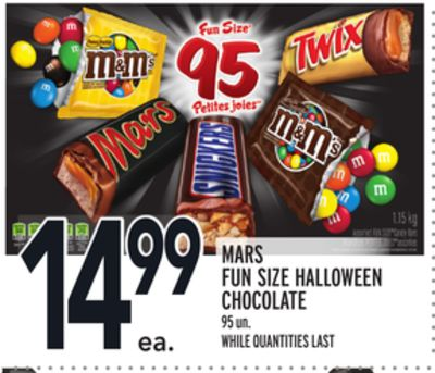 MARS FUN SIZE HALLOWEEN CHOCOLATE