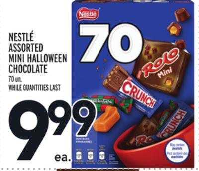NESTLÉ ASSORTED MINI HALLOWEEN CHOCOLATE