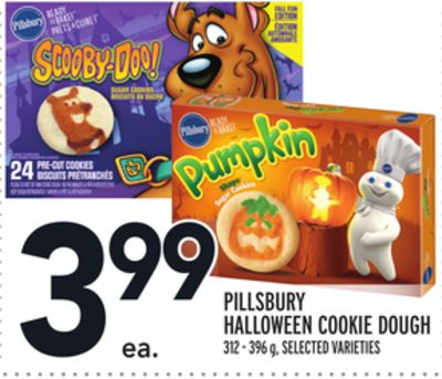 PILLSBURY HALLOWEEN COOKIE DOUGH