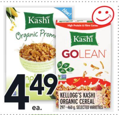 KELLOGG'S KASHI ORGANIC CEREAL