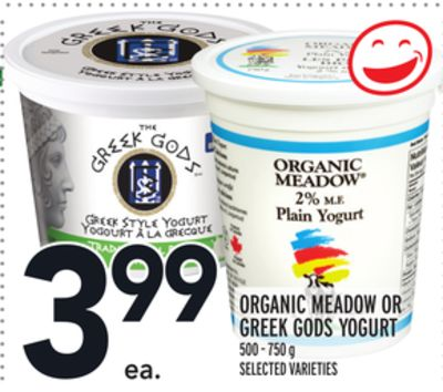 ORGANIC MEADOW OR GREEK GODS YOGURT