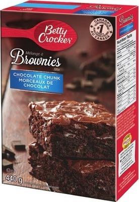 BETTY CROCKER BROWNIE, CAKE OR COOKIE MIX