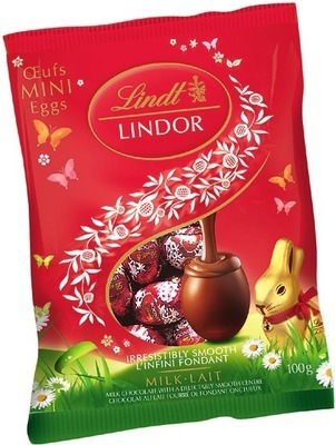 LINDT GOLD BUNNY OR LINDOR EASTER CHOCOLATE