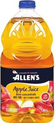 ALLEN'S, ROUGEMONT JUICE