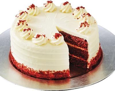 FRONT STREET BAKERY SWISS MILK CHOCOLATE OR RED VELVET CAKE