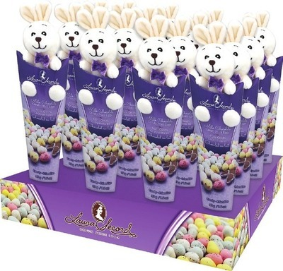 LAURA SECORD CANDY COATED MINI EGGS WITH PLUSH