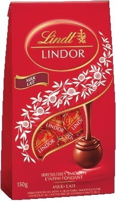 LINDT LINDOR CHOCOLATE BAGS