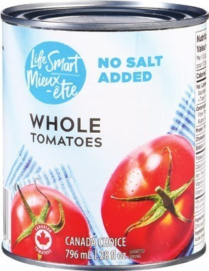 IRRESISTIBLES LIFE SMART OR SELECTION CANNED TOMATOES