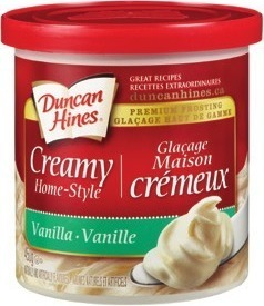 DUNCAN HINES CAKE MIX OR FROSTING