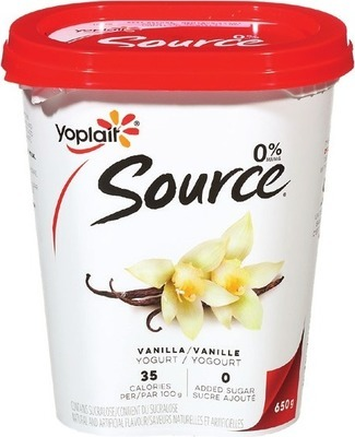 YOPLAIT SOURCE YOGOURT
