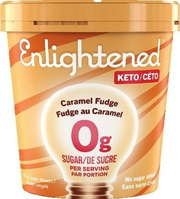 ENLIGHTENED OR HALO TOP FROZEN DESSERT