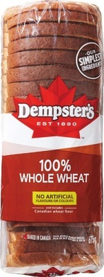 "DEMPSTER'S WHITE OR WHOLE WHEAT BREAD, 7"" TORTILLAS OR D'ITALIANO BREADS AND BUNS"