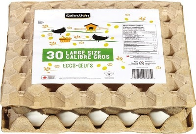 SELECTION LARGE EGGS