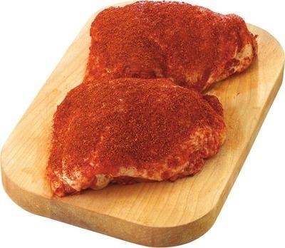 FRESH CHICKEN DRUMSTICKS OR THIGHS BBQ SEASONED