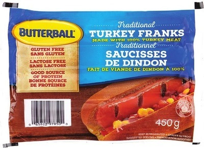 BUTTERBALL TURKEY FRANKS