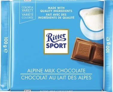 RITTER SPORT CHOCOLATE BARS