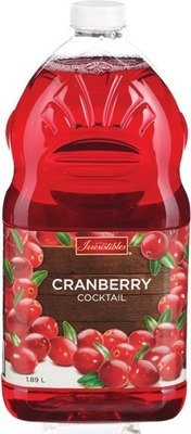 IRRESISTIBLES CRANBERRY JUICE