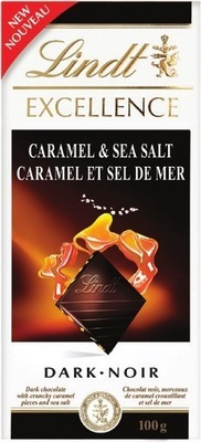 LINDT EXCELLENCE CHOCOLAE BARS