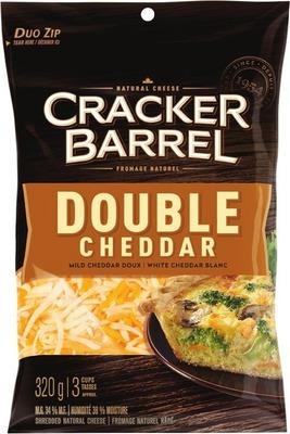 CRACKER BARREL SHREDDED CHEESE