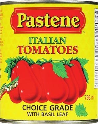 PASTENE PEELED ITALIAN TOMATOES