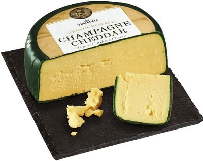 IMPORTED SOMERDALE CHAMPAGNE CHEDDAR