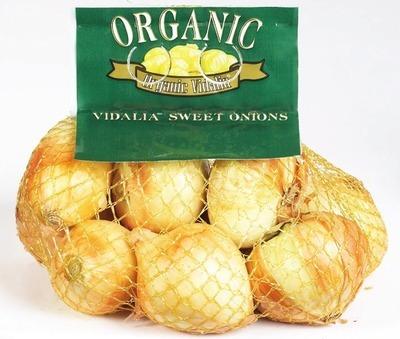 ORGANIC VIDALIA SWEET ONIONS