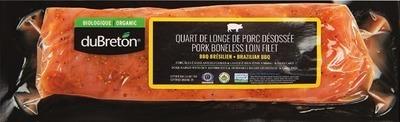 DU BRETON ORGANIC BRAZILIAN BBQ PORK LOIN ROAST