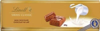 LINDT SWISS CHOCOLATE BAR