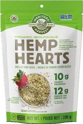 HEMP HEARTS ORGANIC HEMP SEEDS