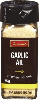 IRRESISTIBLES BBQ SAUCE SALAD DRESSING OR SPICES