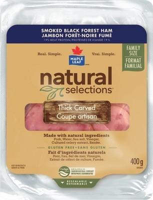 MAPLE LEAF NATURAL SELECTIONS SLICED DELI MEAT