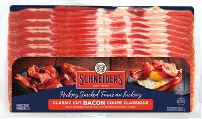 SCHNEIDERS BACON, JUICY JUMBOS OR SMOKED SAUSAGES