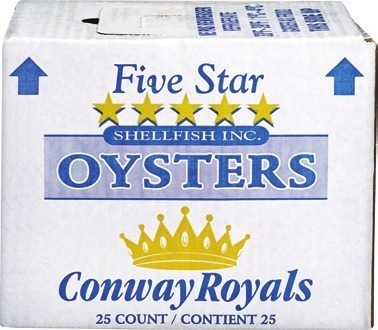 CONWAY ROYALS CHOICE OYSTERS