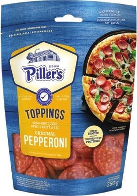 PILLER'S PEPPERONI OR SALAMI TRIO