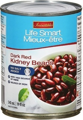IRRESISTIBLES LIFE SMART TOMATOES OR ORGANIC BEANS