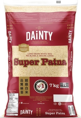 DAINTY PARBOILED OR SUPER PATNA RICE