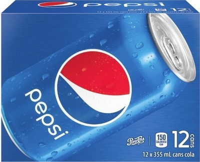 PEPSI OR COCA-COLA SOFT DRINKS