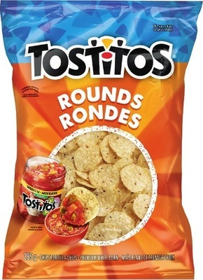 TOSTITOS, MISS VICKIE'S CHIPS OR TOSTITOS SALSA